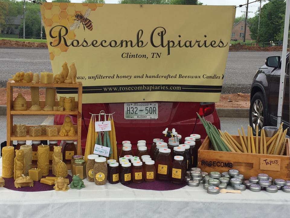 Local Honey, Beeswax Candles, Beeswax Body Salve, and Hand Dipped Tapers
